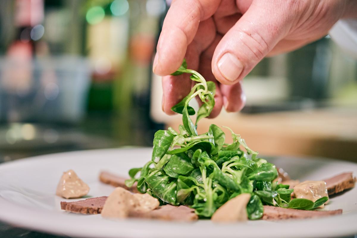 Zubereitung Gourmetspeise im Detail