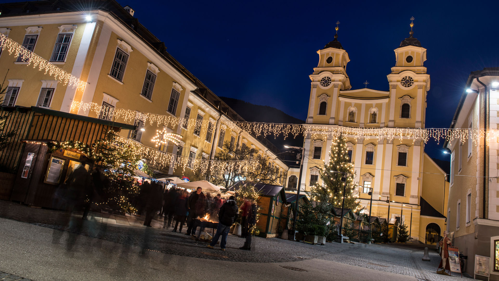 Advent am Mondsee
